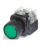 PUSH BUTTON LAMP SWITCH (KGX-JMD21G) Green