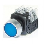 PUSH BUTTON LAMP SWITCH (KGX-JMD21A) Blue